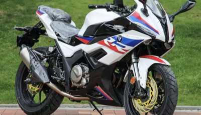 Moto S450 RR: la mini BMW S 1000 RR made in China