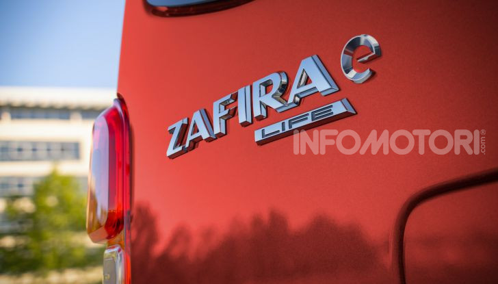 Opel Zafira-e Life: l'ammiraglia tedesca diventa elettrica - Foto 1 di 8