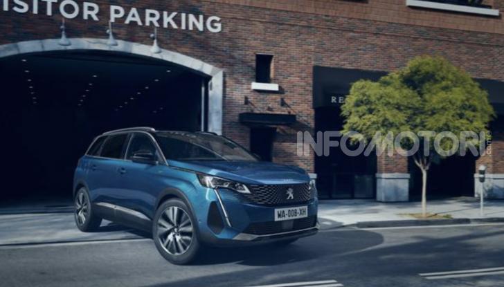 Peugeot 5008: il SUV sette posti è ancora più tecnologico - Foto 1 di 9