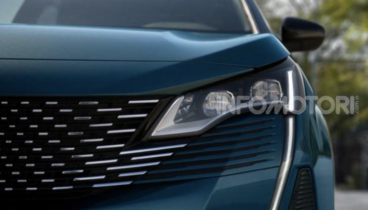 Peugeot 5008: il SUV sette posti è ancora più tecnologico - Foto 2 di 9