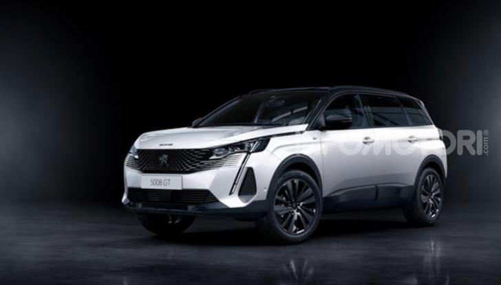 Peugeot 5008: il SUV sette posti è ancora più tecnologico - Foto 5 di 9
