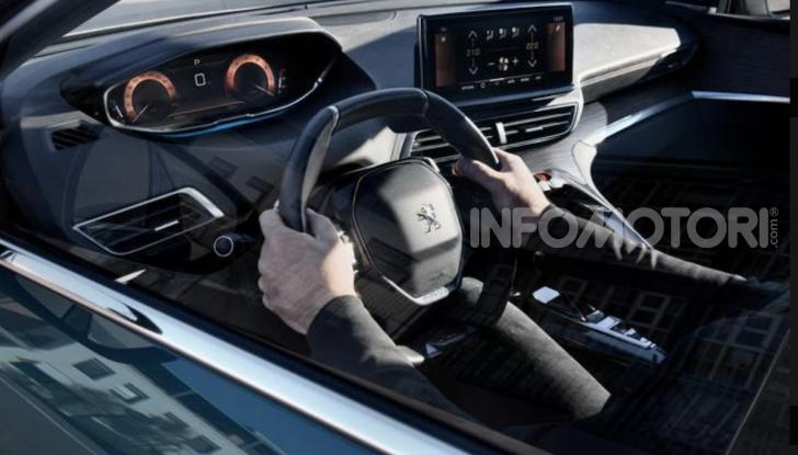 Peugeot 5008: il SUV sette posti è ancora più tecnologico - Foto 7 di 9
