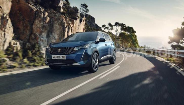 Peugeot 5008: il SUV sette posti è ancora più tecnologico - Foto 9 di 9
