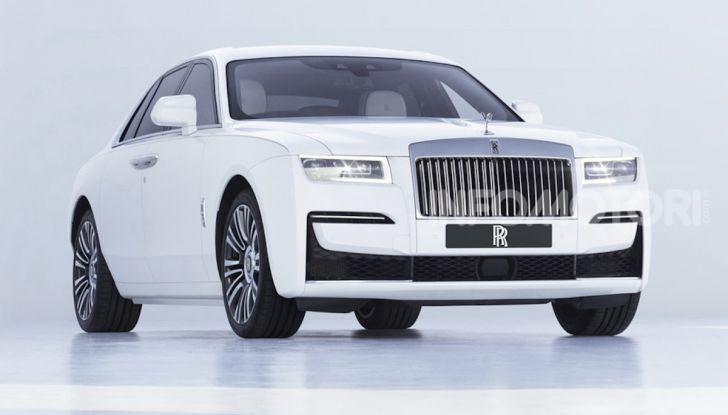 Rolls Royce Ghost: lusso e tecnologia allo stato puro - Foto 3 di 12