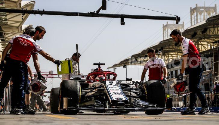 Alfa Romeo F1 2020 pit-stop