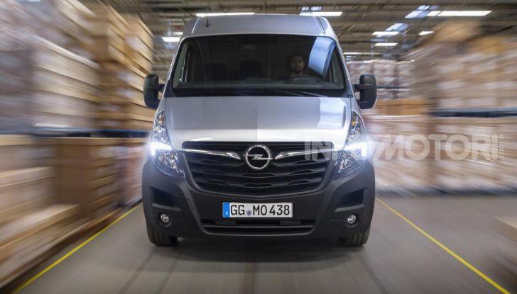 Opel Movano elettrico 2021
