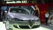 Alfa Romeo al Salone di Parigi con 147, Crosswagon Q4 e 8c Competizione