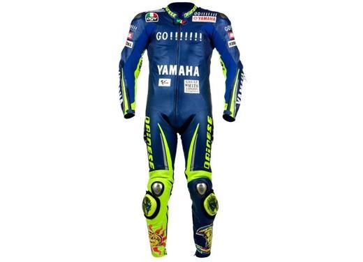 Speciale:  La tuta di Valentino Rossi