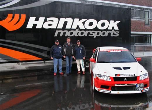 Infosport: La Hankook e la Wallenwein Rallye Sport