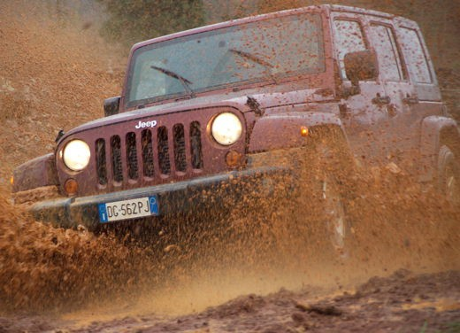 Jeep new Wrangler / Unlimited - Test Drive