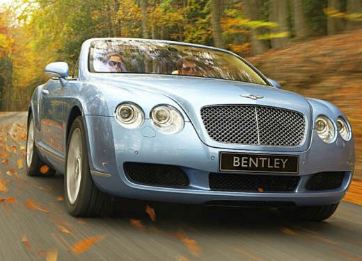 Ultimissime: Bentley Continental GTC