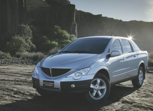Ultimissime: SsangYong Actyon Sport