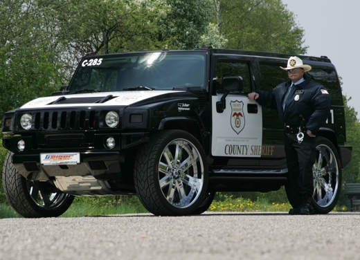 Ultimissime: Hummer H2 Sheriff by Geiger - Foto 1 di 5
