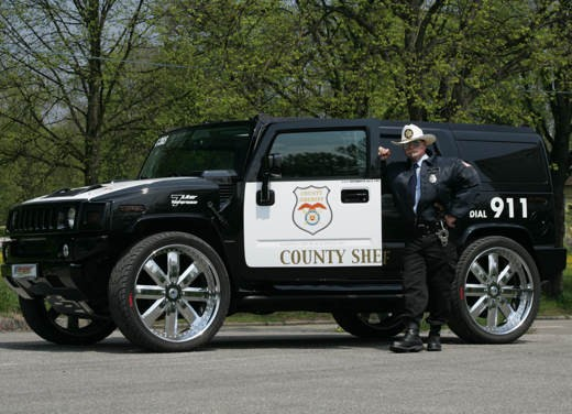 "Hummer H2 ""Sheriff"" by Geiger - Foto 2 di 4"