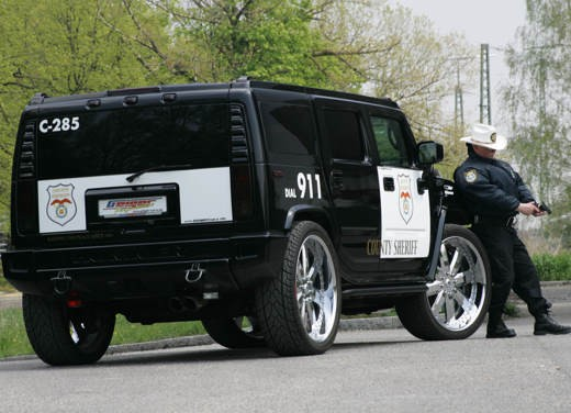 "Hummer H2 ""Sheriff"" by Geiger - Foto 3 di 4"
