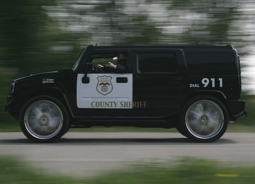"Hummer H2 ""Sheriff"" by Geiger - Foto 4 di 4"