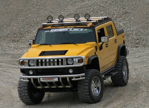 Ultimissime: Hummer H2 Hannibal by GeigerCars - Foto 1 di 7
