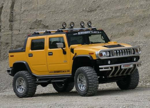 Ultimissime: Hummer H2 Hannibal by GeigerCars - Foto 3 di 7