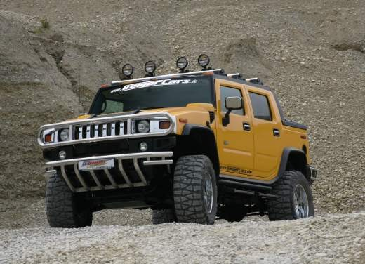 Ultimissime: Hummer H2 Hannibal by GeigerCars - Foto 4 di 7
