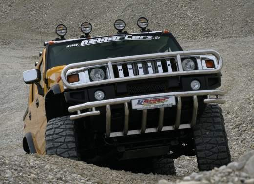 Ultimissime: Hummer H2 Hannibal by GeigerCars - Foto 6 di 7