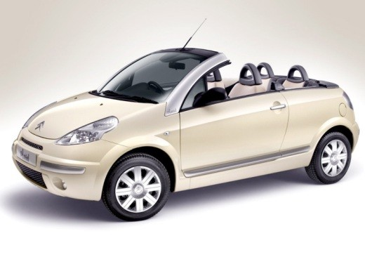 Ultimissime: Citroen C3 Pluriel Latte