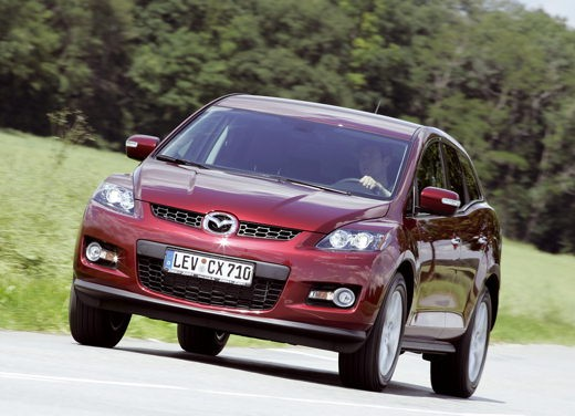 Nuova Mazda CX-7 – Long Test Drive - Foto 8 di 57