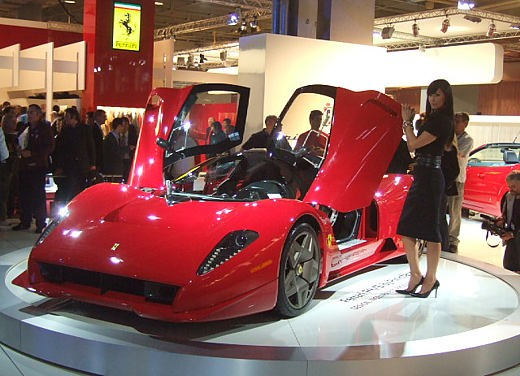 Ferrari al Salone di Parigi 2006 - Foto 5 di 21