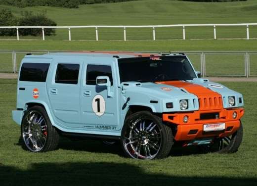 Hummer H2 GT by GeigerCars - Foto 3 di 6