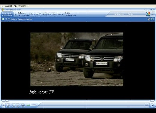 Mitsubishi Pajero – Video - Foto 2 di 9