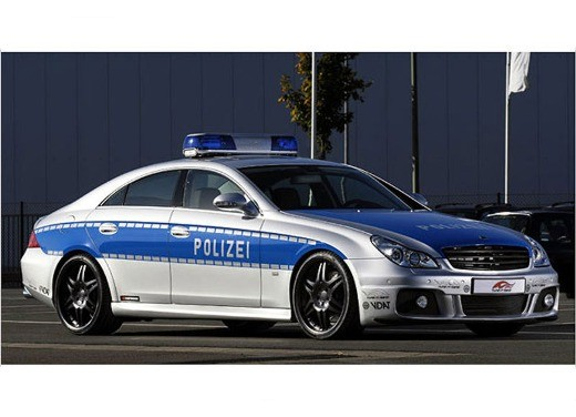 Mercedes CLS Rocket Polizei by Brabus - Foto 1 di 7