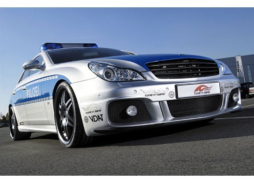 Mercedes CLS Rocket Polizei by Brabus - Foto 5 di 7