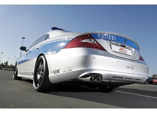 Mercedes CLS Rocket Polizei by Brabus - Foto 6 di 7