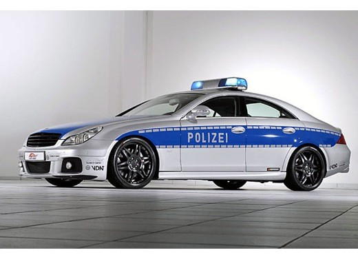 Mercedes CLS Rocket Polizei by Brabus - Foto 7 di 7