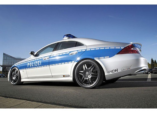 Mercedes CLS Rocket Polizei by Brabus - Foto 2 di 7