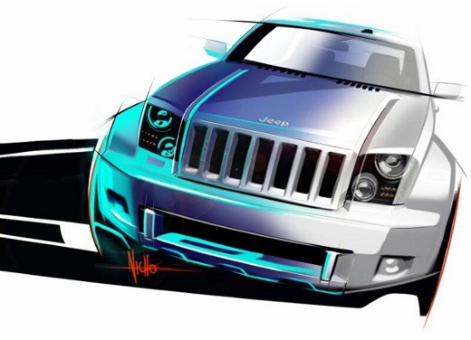 Ultimissime: Jeep Trailhawk Concept - Foto 1 di 2