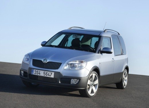 Ultimissime: Skoda Roomster Scout
