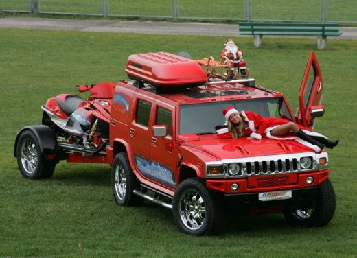 Hummer H2 Christmas by Geiger - Foto 7 di 10
