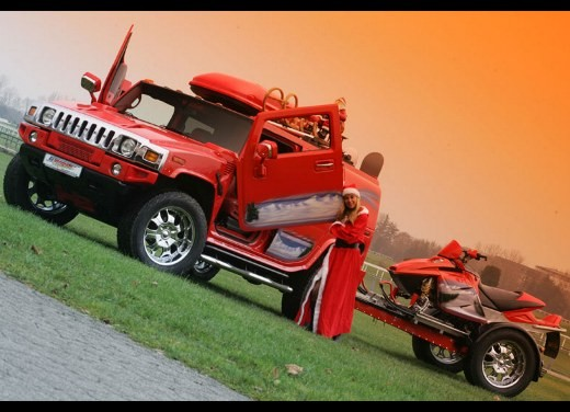 Hummer H2 Christmas by Geiger - Foto 2 di 10