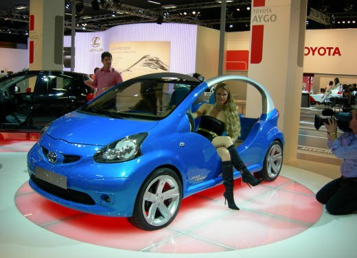 Toyota al Motor Show di Bologna 2006 - Foto 16 di 19
