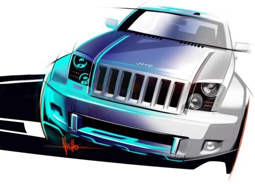 Jeep Trailhawk Concept - Foto 1 di 9