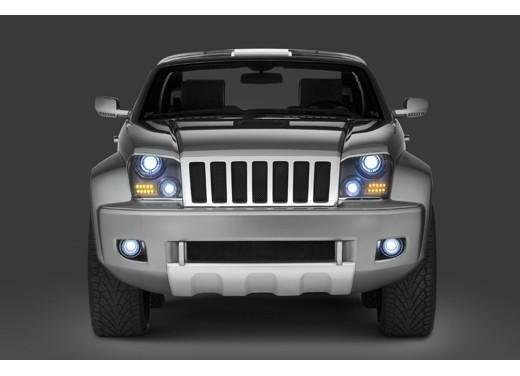 Jeep Trailhawk Concept - Foto 4 di 9