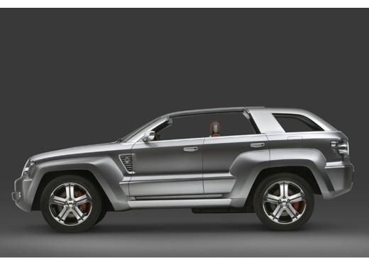 Jeep Trailhawk Concept - Foto 5 di 9