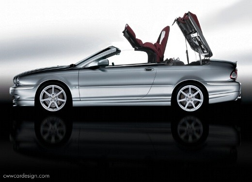 Ultimissime:Jaguar X-Type Convertible