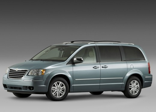 Ultimissima: Chrysler nuovo Voyager 2008 - Foto 8 di 21