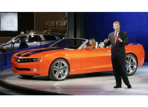 Chevrolet Camaro convertible concept - Foto 2 di 16