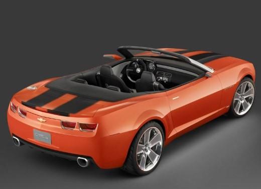 Chevrolet Camaro convertible concept - Foto 6 di 16