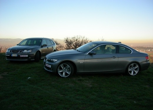 BMW 3 Coupè & Saab SportHatch – Long Test - Foto 1 di 25