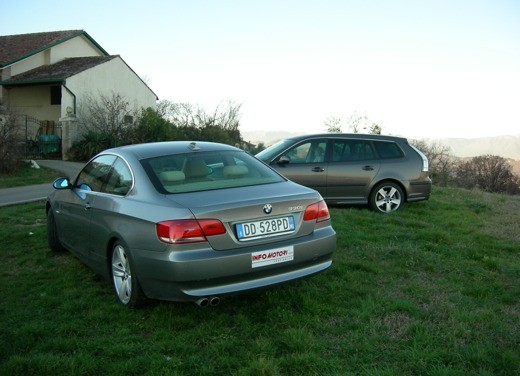 BMW 3 Coupè & Saab SportHatch – Long Test - Foto 13 di 25