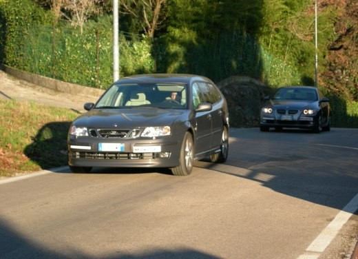 BMW 3 Coupè & Saab SportHatch – Long Test - Foto 3 di 25