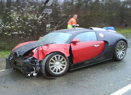 Ultimissime: Bugatti Veyron – Crash - Foto 1 di 3